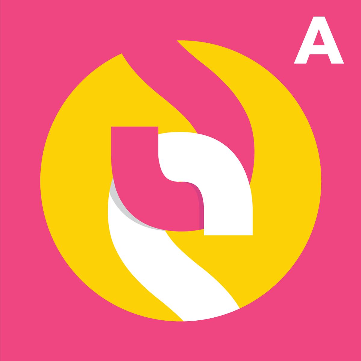 SubscribeStar Adult Logomark Pink