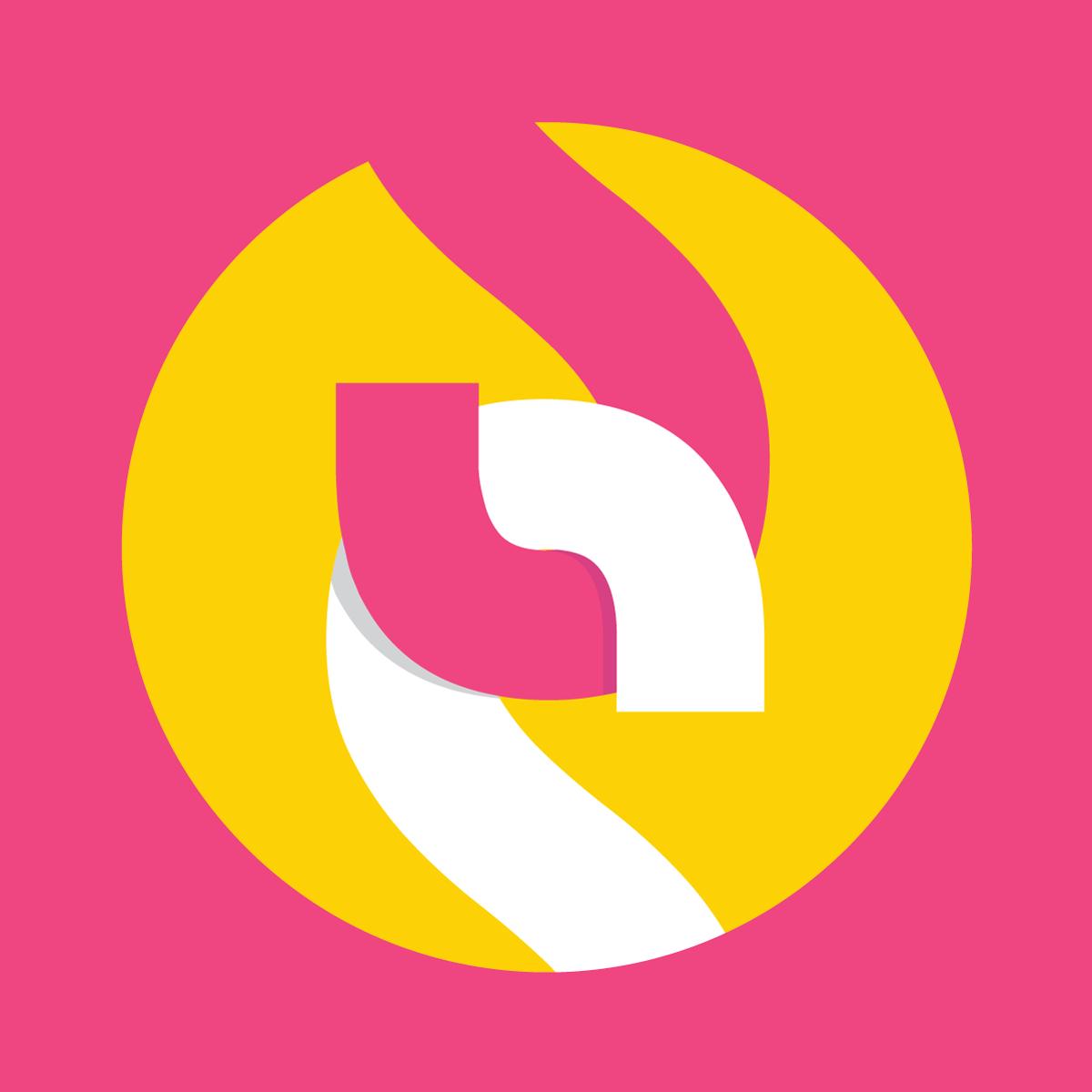 SubscribeStar Logomark Pink